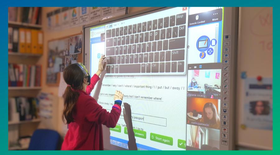 Învățarea digitală-cu un pas în viitor